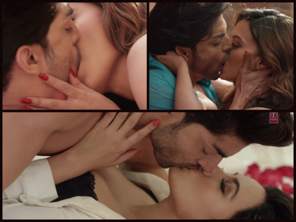 Hottest Bollywood Kisses Of 2016- Gurmeet and Sana In WTH