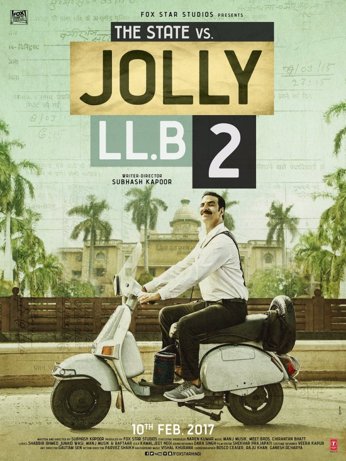 Jolly LLB 2 First Look featuring Akshay Kumar