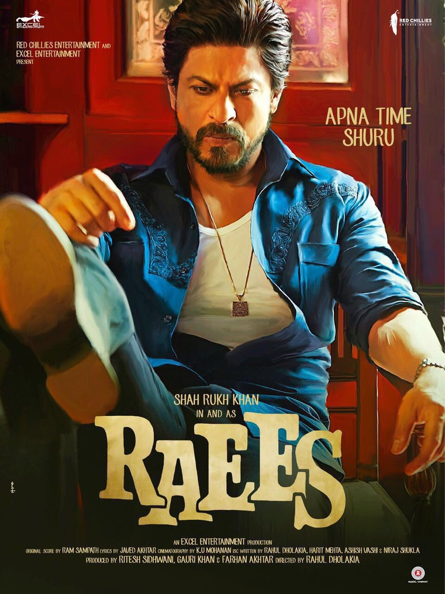 Highest Republic Day Collection: Raees at the second position