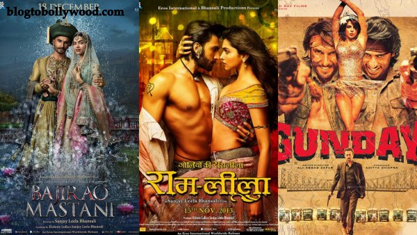 Ranveer Singh's Top 10 Opening Day Grossers