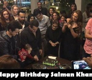 Photos: Salman Khan Celebrated His Birthday With Family And Close Friends