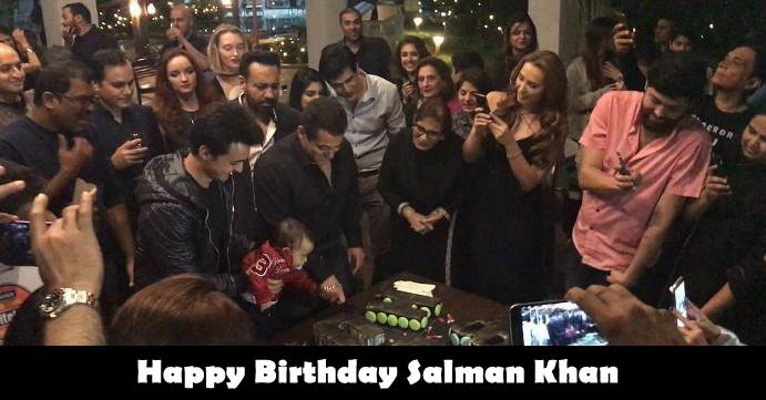 Salman Khan Birthday Photos