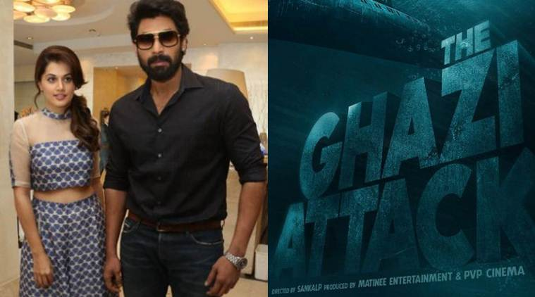 The Ghazi Attack First Look Poster