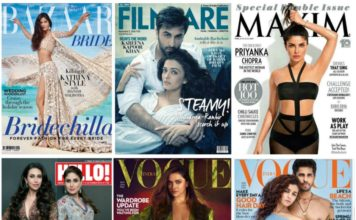 Top Magazine Covers in 2016