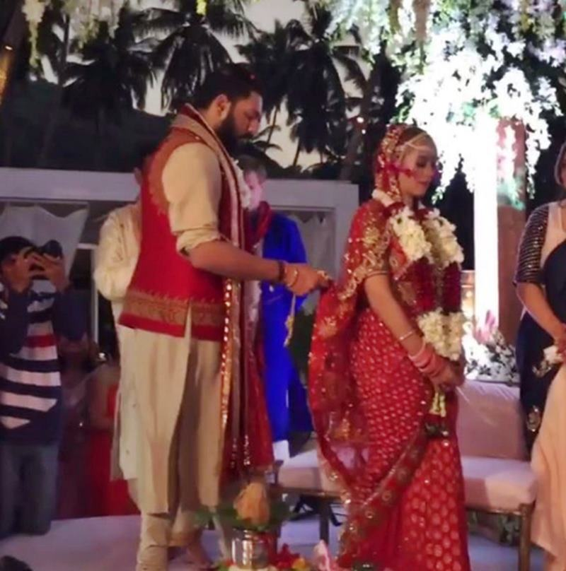 Yuvraj Singh-Hazel Keech's wedding was a grand event, these pictures are proof of it!- Yuvi-Hazel 2