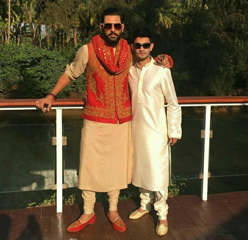 Yuvraj Singh-Hazel Keech's wedding was a grand event, these pictures are proof of it!- Yuvi-Hazel 4