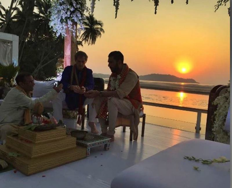 Yuvraj Singh-Hazel Keech's wedding was a grand event, these pictures are proof of it!- Yuvi-Hazel 6