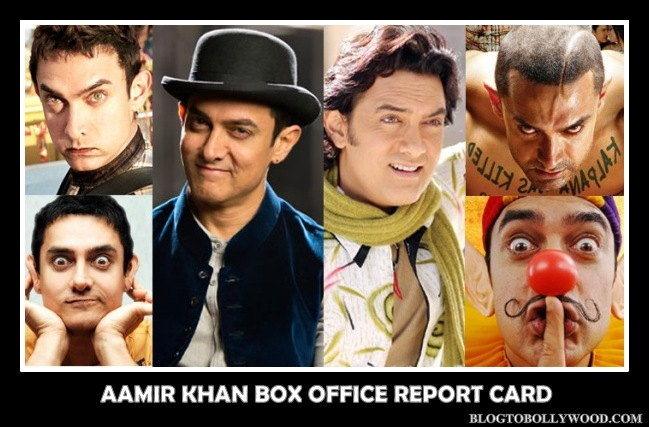 Aamir Khan Box Office Report Card, List Of Hit, Flop Movies Of Aamir Khan