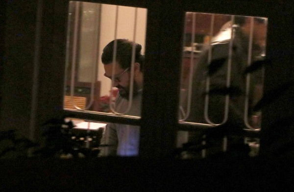 Sneak peek of Aamir Khan in the dining room