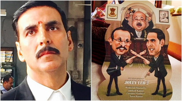 First Look Of Akshay Kumar's Jolly LLB 2