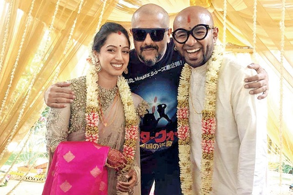 benny-dayal-wedding-pic