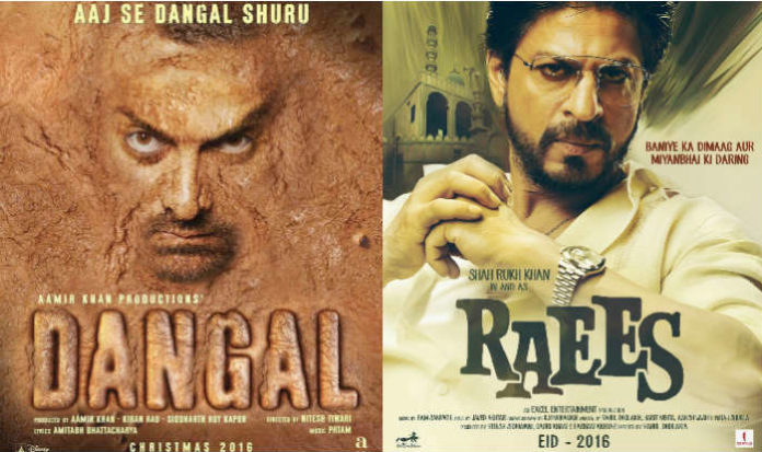 Raees Beats Dangal, Becomes First BollywoodTrailer To Cross 10 Million Views In 24 Hours