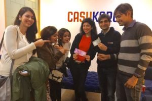 #TalkingCash With The Co-founders of CashKaro And Delhi Bloggers At CashKaro Bloggers Meet