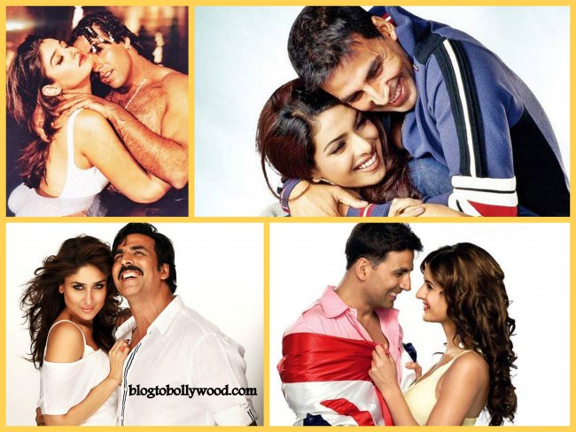 Co-actresses Akshay Kumar Looks Best With