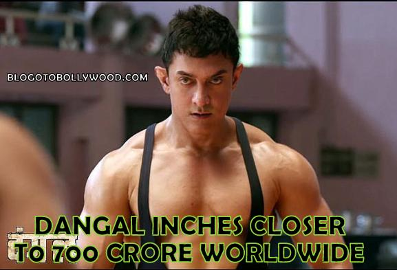 Worldwide Box Office Collection: Dangal Inches Closer To 700 Crore Mark