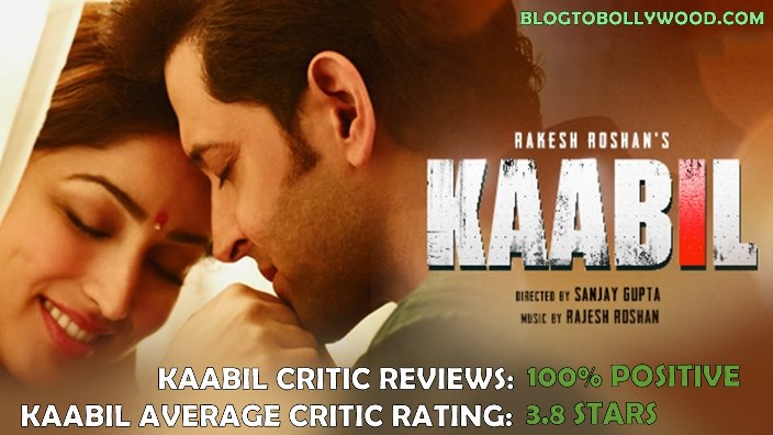 Kaabil Critics Reviews & Ratings: Huge Applause From Critics