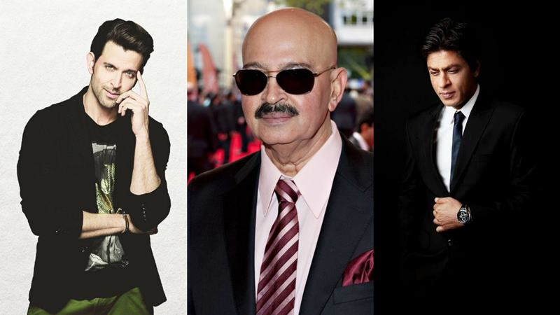 Rakesh Roshan wants to make Karan Arjun 2 with Shah Rukh and Hrithik Roshan in it!