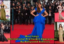 Most Iconic International Red Carpet Appearances By Bollywood Actresses