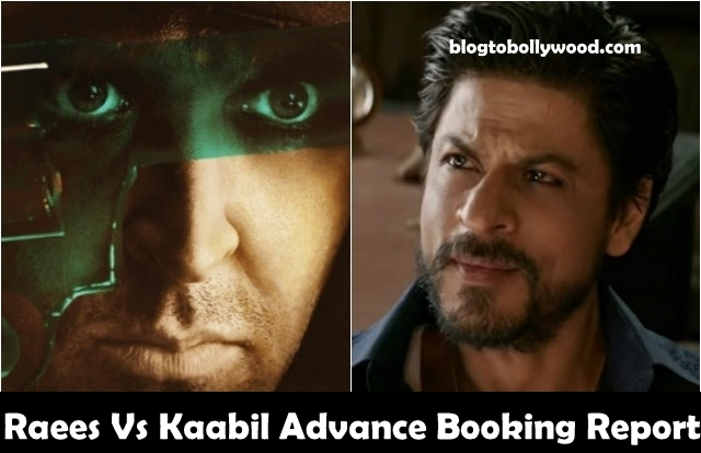 Raees Vs Kaabil Advance Booking Report: SRK Has Taken A Big Lead Over Kaabil