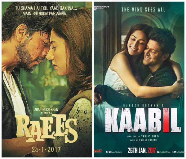 Raees Vs Kaabil Second Day Box Office Collection Comparison
