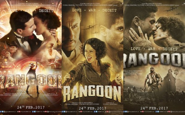Shahid Kapoor Upcoming Movies - Rangoon on 24 Feb 2017