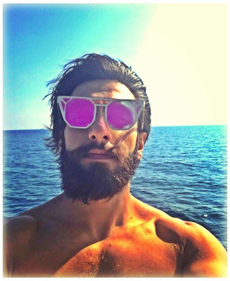 These pictures of Ranveer Singh prove that his beard game is on point!- Ranveer Beard 5