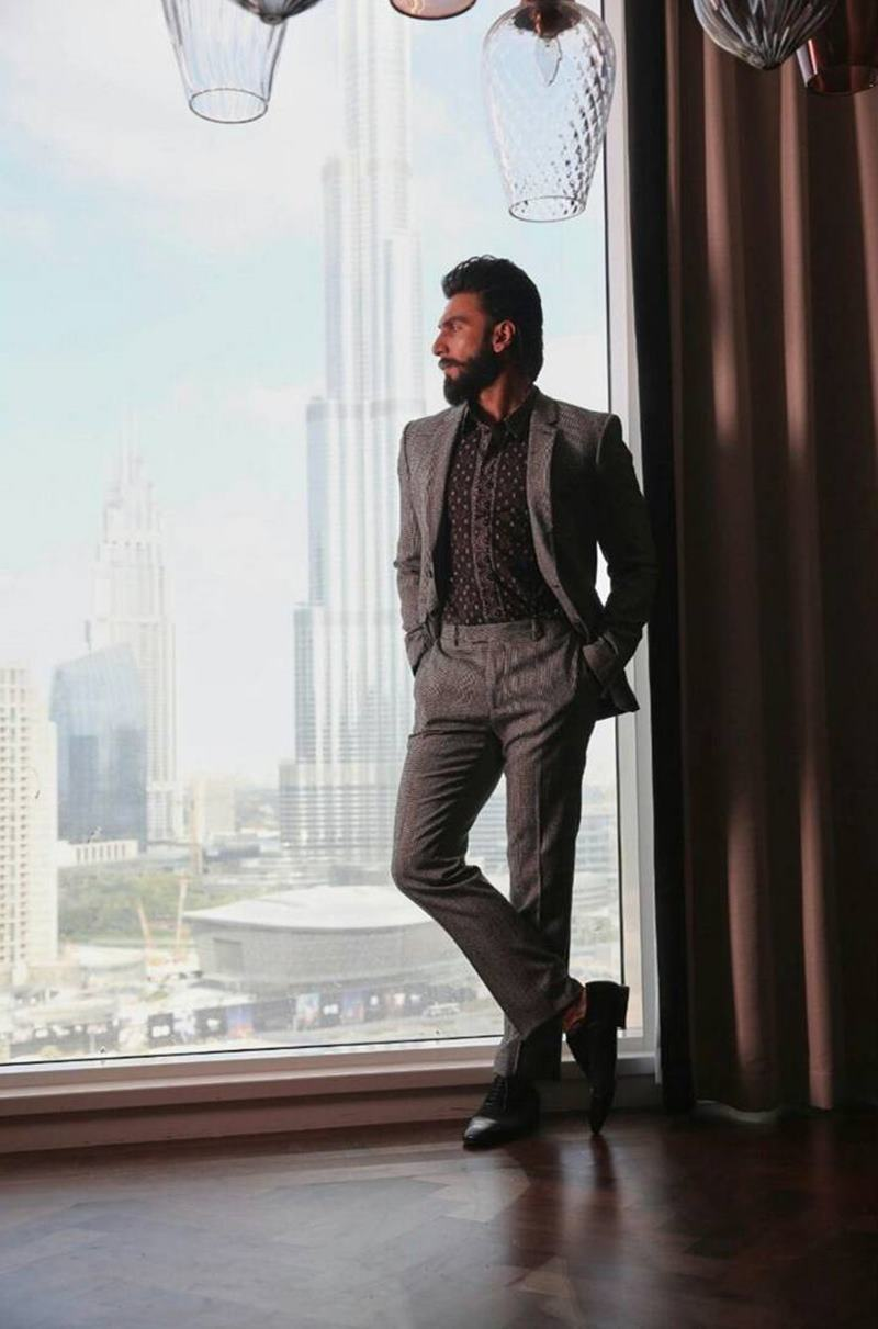 These pictures of Ranveer Singh prove that his beard game is on point!- Ranveer Beard 6