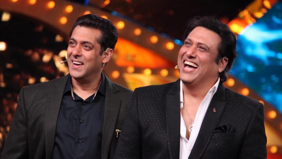 Salman and Govinda Reunites On Bigg Boss 10 Sets