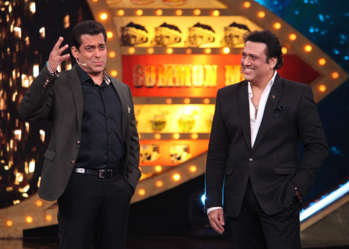 Salman and Govinda on Bigg Boss 10