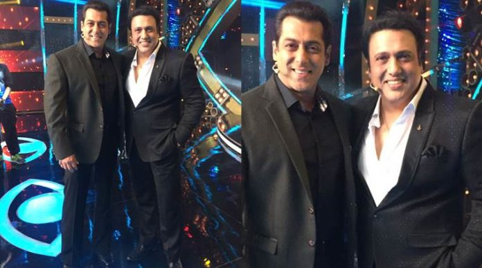 Salman Khan And Govinda Reunites On Bigg Boss 10