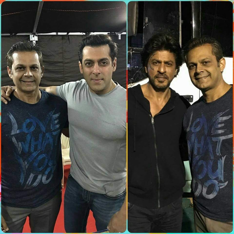 Shah Rukh Shoots For Salman Khan's Tubelight