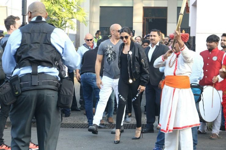 Vin Diesel Arrives In India With Deepika Padukone 2