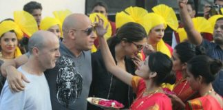 Vin Diesel Arrives In India With Deepika Padukone 4