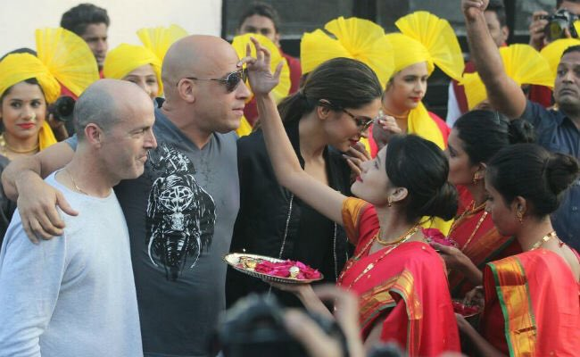 Photos: Vin Diesel Arrives In India With Deepika Padukone To Promote xXx