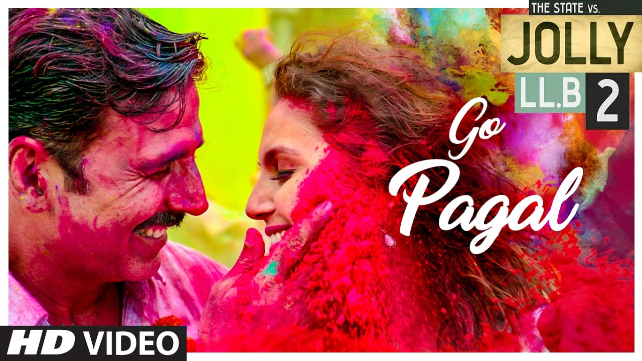 "Watch: Akshay Kumar ""Go Pagal"" in 'Jolly LLB 2' song"