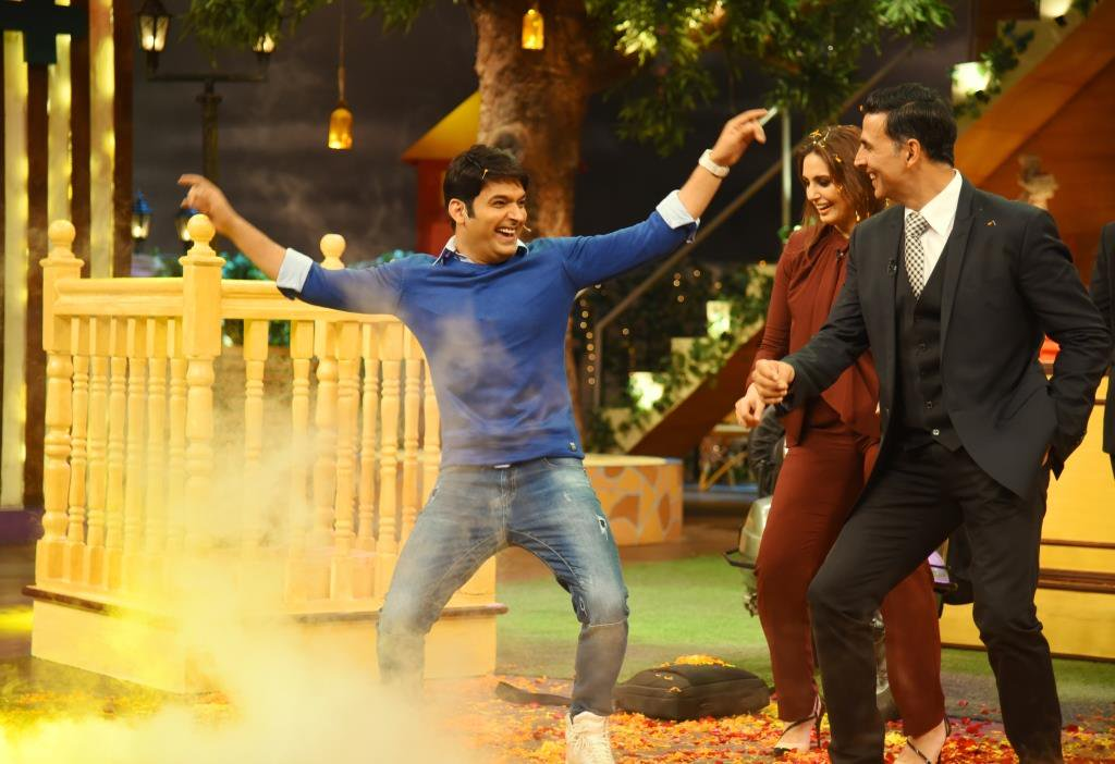 Akshay and Huma at TKSS 3