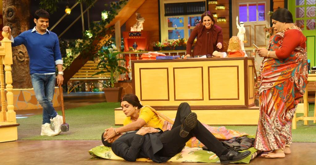 Akshay and Huma at TKSS 4