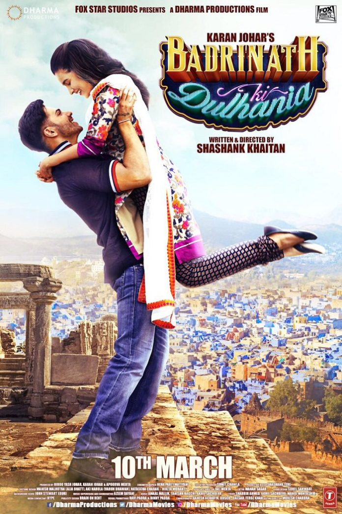 Badrinath Ki Dulhania Star Cast, Release Date, Video Songs, Trailer, Review, Box Office Collection & Latest Updates