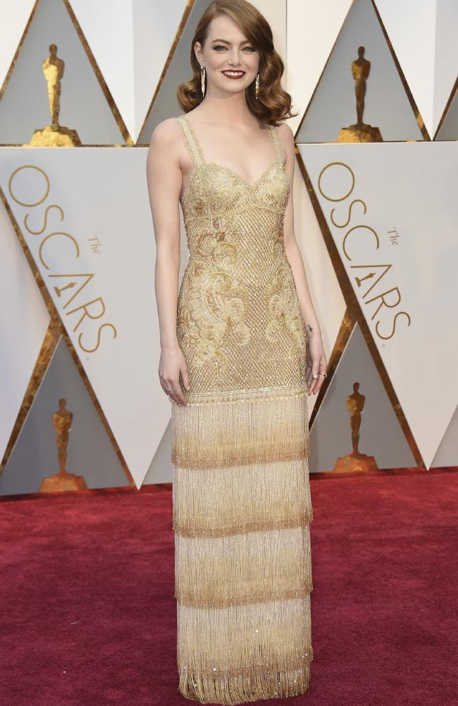 Celebrities Style Files Oscars 2017 - Emma Stone