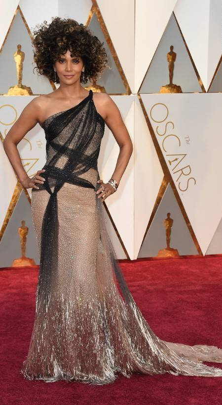 Celebrities Style Files Oscars 2017 - Halle Berry