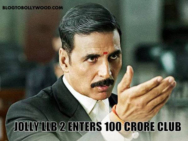 100 crore club - Jolly LLB 2 is the latest movie to cross 100 crores