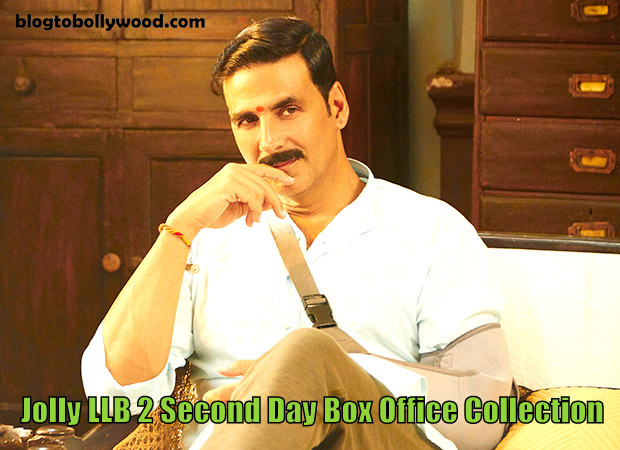 Jolly LLB 2 2nd Day Box Office Collection