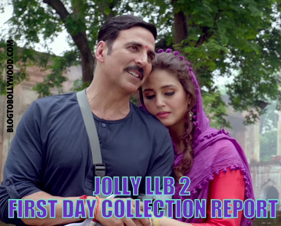 Official Box Office Report: Jolly LLB 2 1st Day Box Office Collection