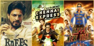 Raees To Chennai Express: List Of Shah Rukh Khan's 100 Crore Movies