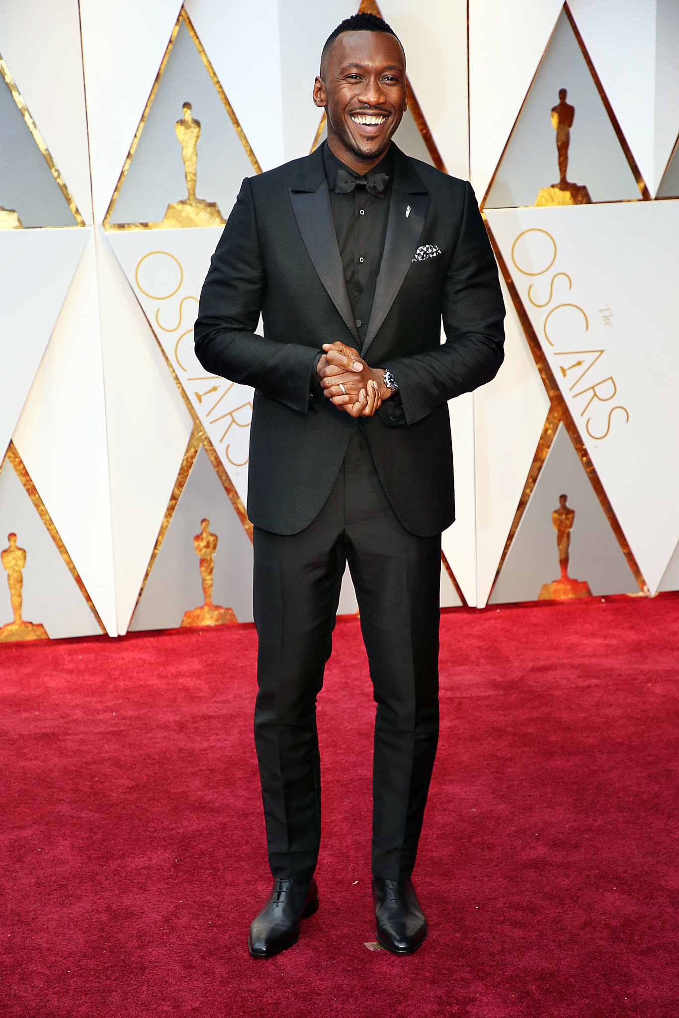 Celebrities Style Files Oscars 2017 - Mahershala Ali