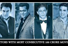 Actors With Most Consecutive 100 Crore Movies: Salman Khan, SRK and Akshay