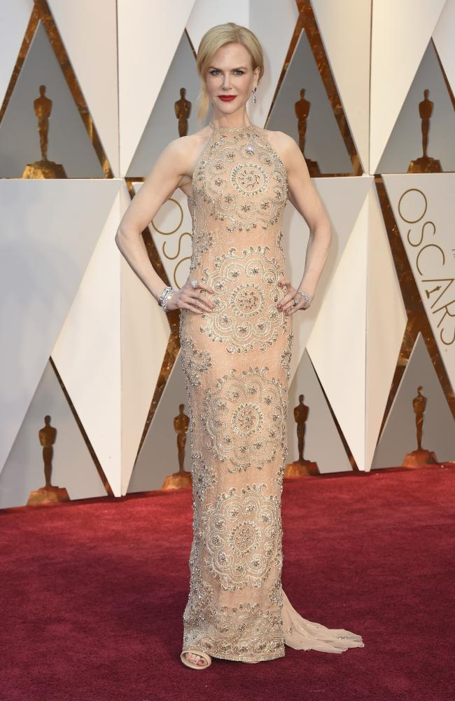Celebrities Style Files Oscars 2017 - Nicole Kidman