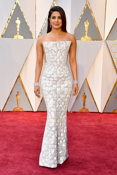 Celebrities Style Files Oscars 2017 - Priyanka Chopra