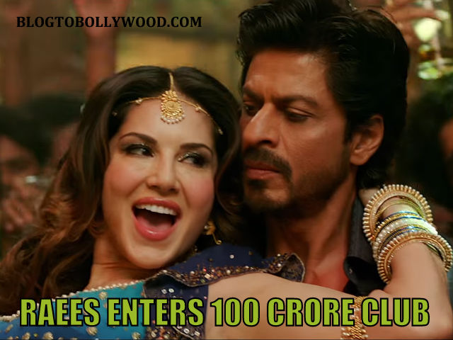 Raees 7th Day Collection: Shah Rukh Khan's Film Enters 100 Crore Club On Tuesday