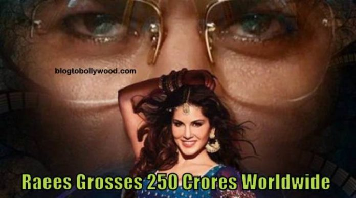 Raees Worldwide Collections: Shah Rukh Khan's Film Grosses 250 Crores